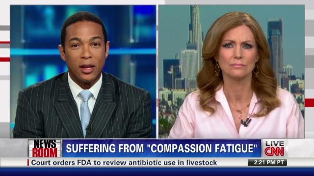 Suffering from 'Compassion Fatigue'