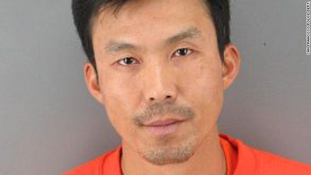 Binh Thai Luc, 35, was arrested in San Francisco on Sunday and charged with five counts of murder.