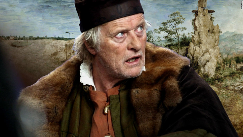 "Polish film director Lech Majewski has brought Pieter Bruegel the Elder's painting ""The Way to Calvary"" onto the big screen in new film ""The Mill and the Cross."" Actor Rutger Hauer plays the artist."