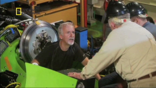 James Cameron dives to ocean's depths