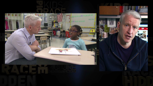 Anderson Cooper on Kids on Race study