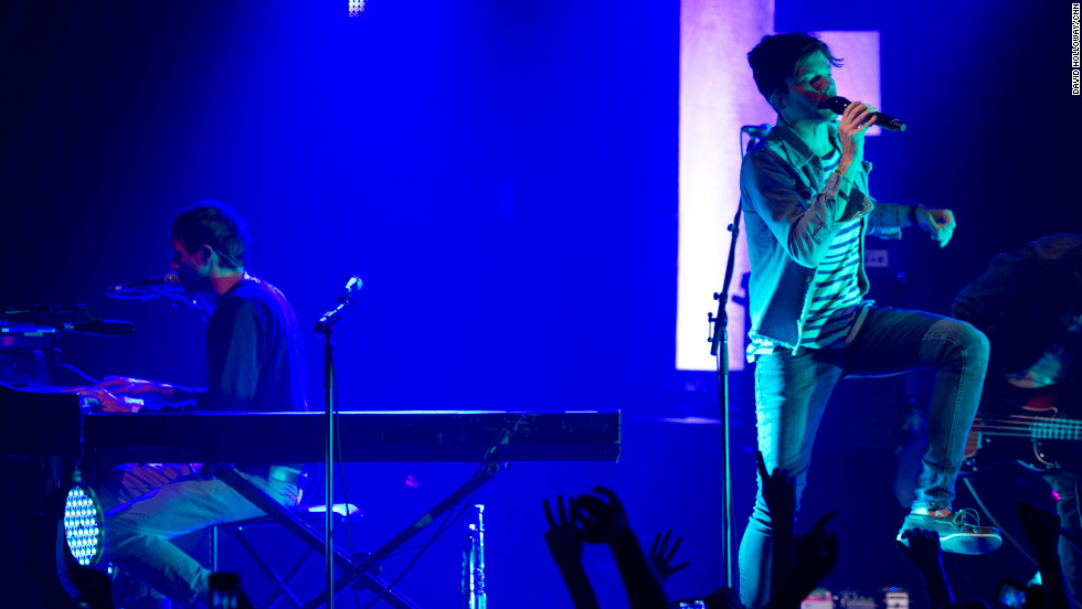 Piano player Andrew Dost and Ruess sing together. Dost and Ruess first met while on tour in different bands.