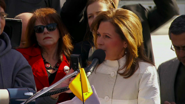 Bachmann, Tea Party against 'Obamacare'