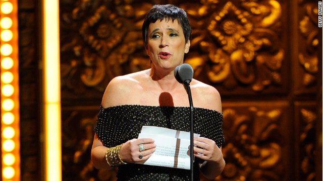 "Eve Ensler was recognized at last year's Tony Awards for her ""Vagina Monologues"" and V-Day efforts."
