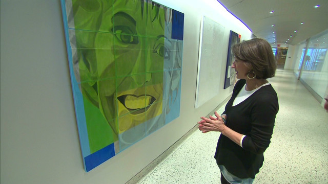 Art inspires brain injury survivors