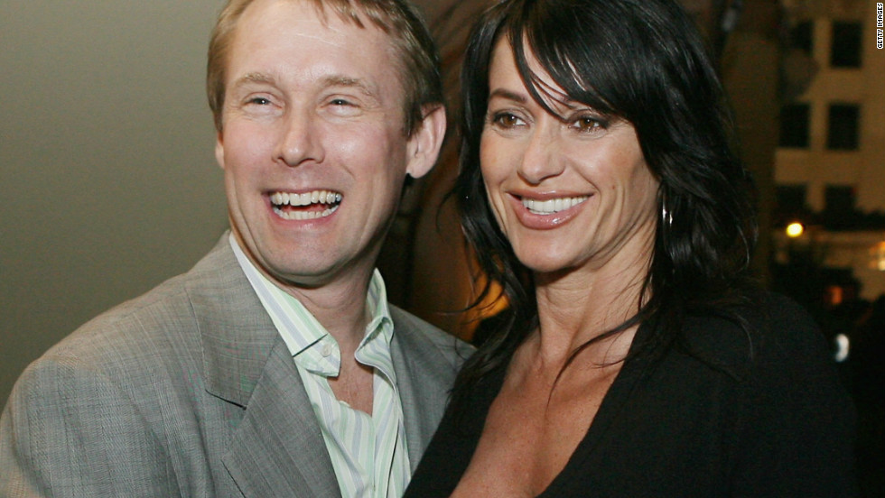 Comaneci attends a function with her husband and fellow Olympian, former U.S. gymnast Bart Conner.