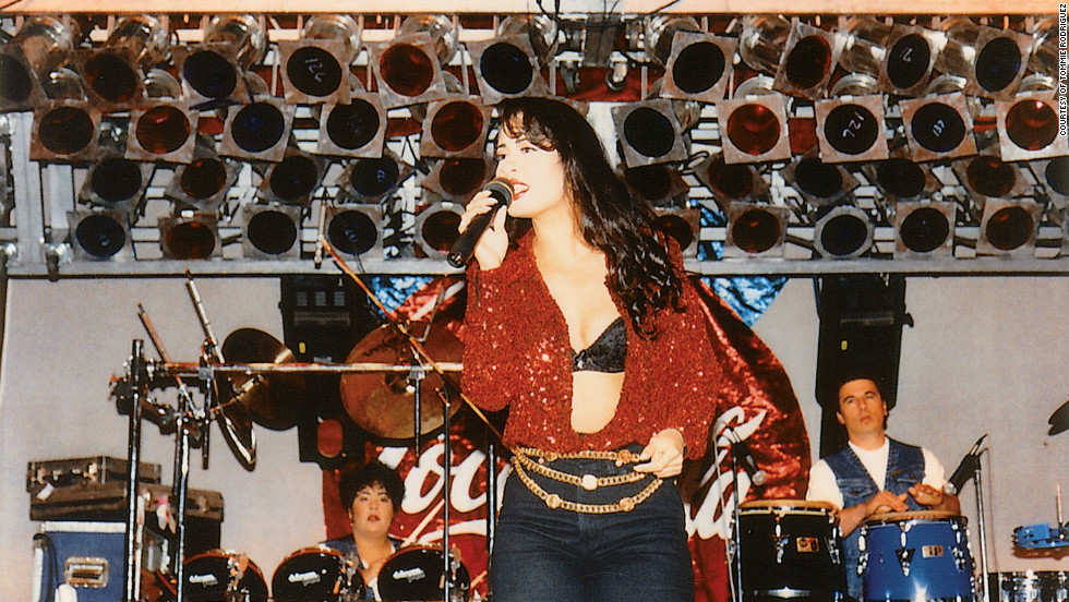 Selena was comfortable onstage. It was only natural, especially since she started performing at such a young age. In fact, her father took her out of school when she was in the eighth grade to begin her career. She later received her GED when she was 17.