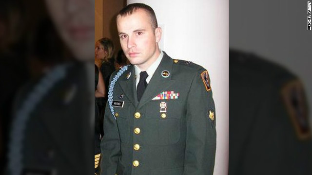 Spc. Dennis Weichel, 29, of Providence, Rhode Island, died saving the life of a little girl in Afghanistan.