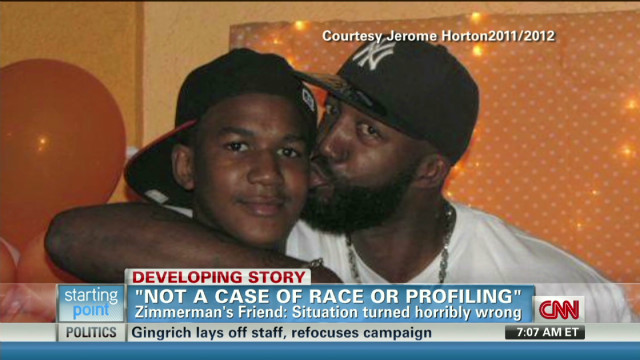 Martin's father: 'Trayvon is the victim'