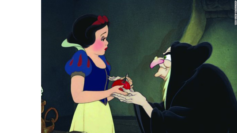 "Disney's 1937 animated account of ""Snow White and the Seven Dwarfs"" is based on Jacob and Wilhelm Grimm's violent folk tale. The animated classic features the vocal stylings of Adriana Caselotti as Snow White."
