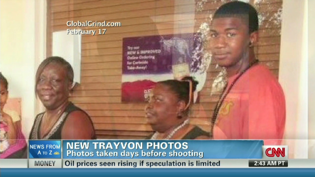 New photos show Trayvon before shooting
