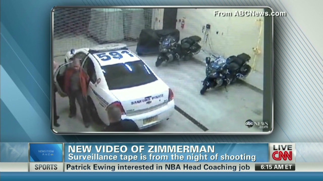 Does video show Zimmerman injuries?