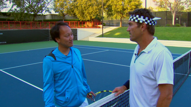 Michael Chang's historic French victory