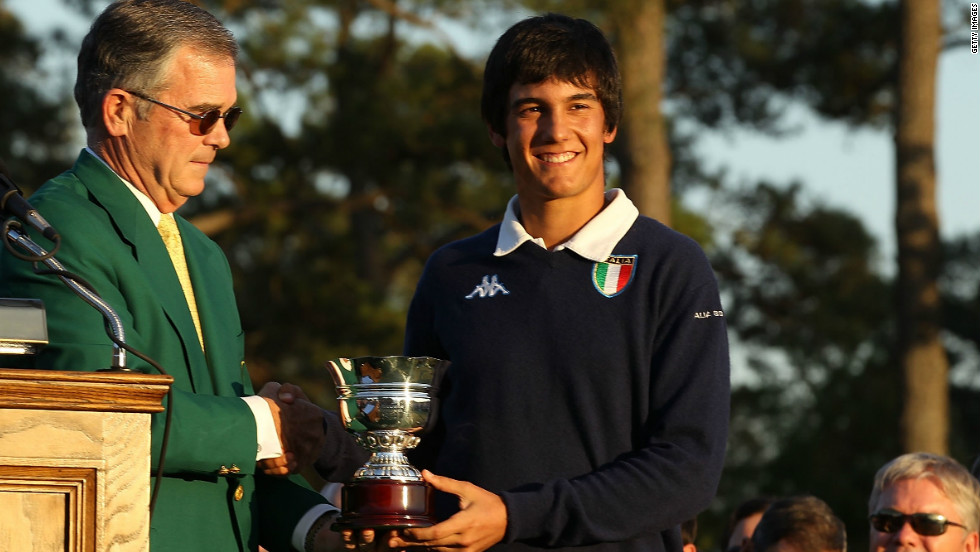 In 2010, Matteo Manassero became the youngest golfer to ever play at the Masters. At 16 years, 11 months and 22 days, the Italian teenager also became the youngest player to make the cut as he went on to win the Silver Cup for top amateur.