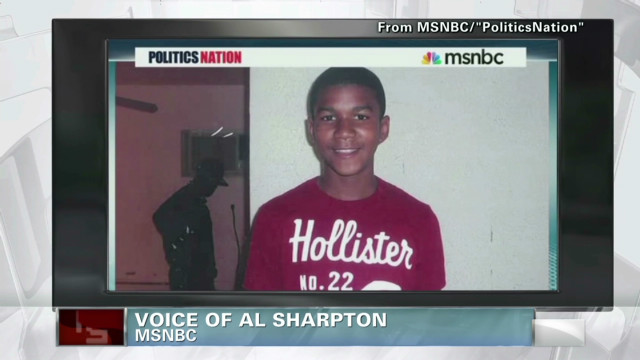 The polarization of Trayvon Martin story