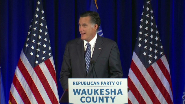 Santorum, Romney at Wisconsin dinner