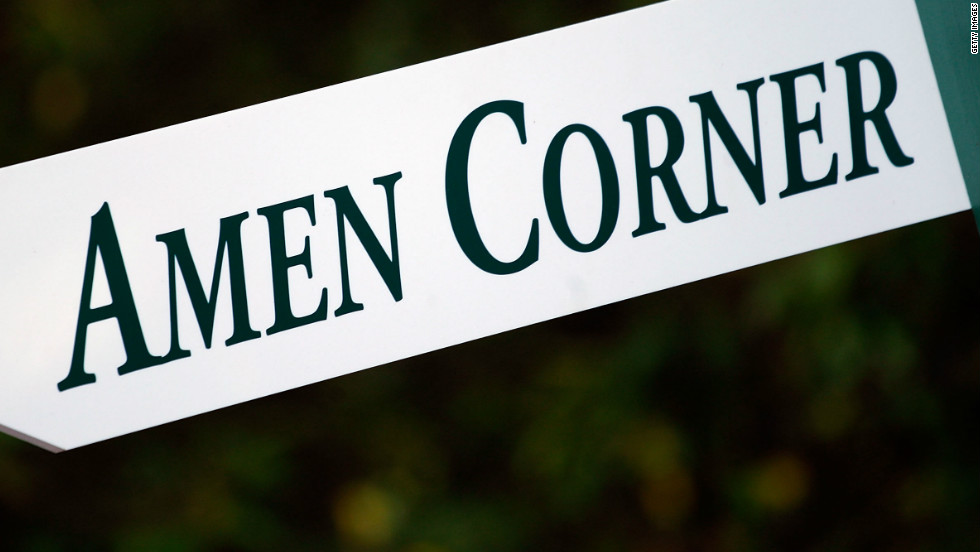 "Augusta has perhaps the most feared stretch of holes in golf. ""Amen Corner"" was coined by Sports Illustrated writer Herbert Warren Wind in 1958 to describe the perils that lay in wait for players playing the 11th, 12th and 13th holes -- a place where many a promising round has been ruined."