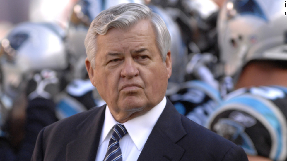 Though the Carolina Panthers owner had a short NFL career, it was a memorable one. As a Baltimore Colt, he caught a touchdown pass in the 1959 NFL championship game, the Colts' second straight title. And then, upset with his contract, he walked away to open a fast-food restaurant named Hardee's. More than 30 years later, a millionaire many times over, he bought into the NFL.