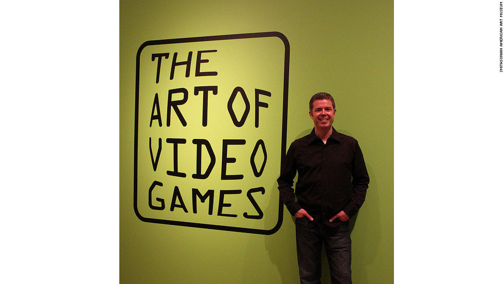 "Guest curator Chris Melissinos was the driving force behind the vision of ""The Art of Video Games"" exhibit at the Smithsonian American Art Museum in Washington. ""This is not designed to be an exhaustive compendium of the history of games,"" he said. ""It is an art exhibition."""