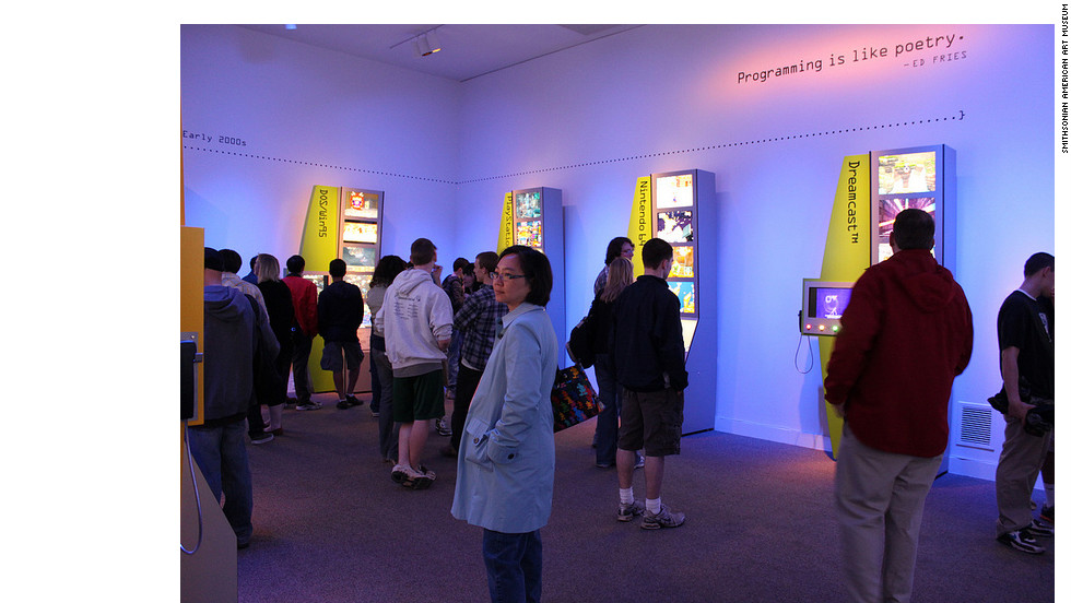 Opening weekend at the Smithsonian American Art Museum drew nearly 23,000 visitors, ranking it in the top five highest visitation day for the museum.