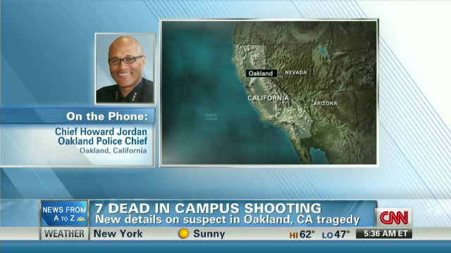 Campus shooter target was female admin.