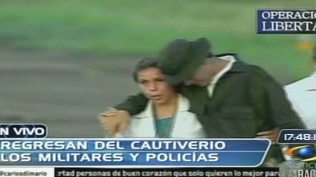 Colombia hostages released
