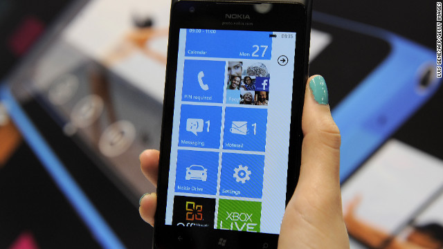 Though the screen on the Nokia Lumia 900 is 0.8 inches larger than an iPhone's, it doesn't feel large in your hand.