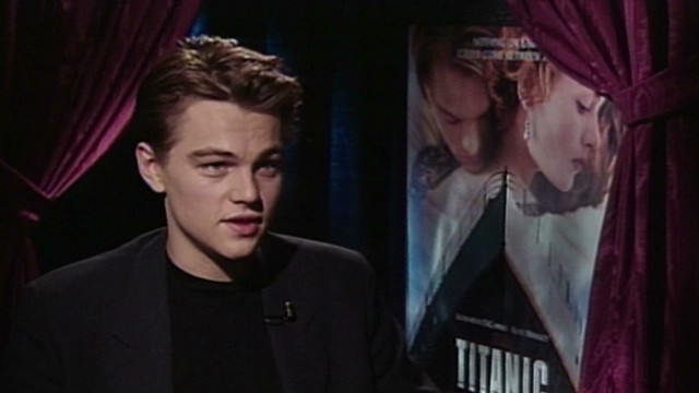 Look back at Kate, Leo talking 'Titanic'