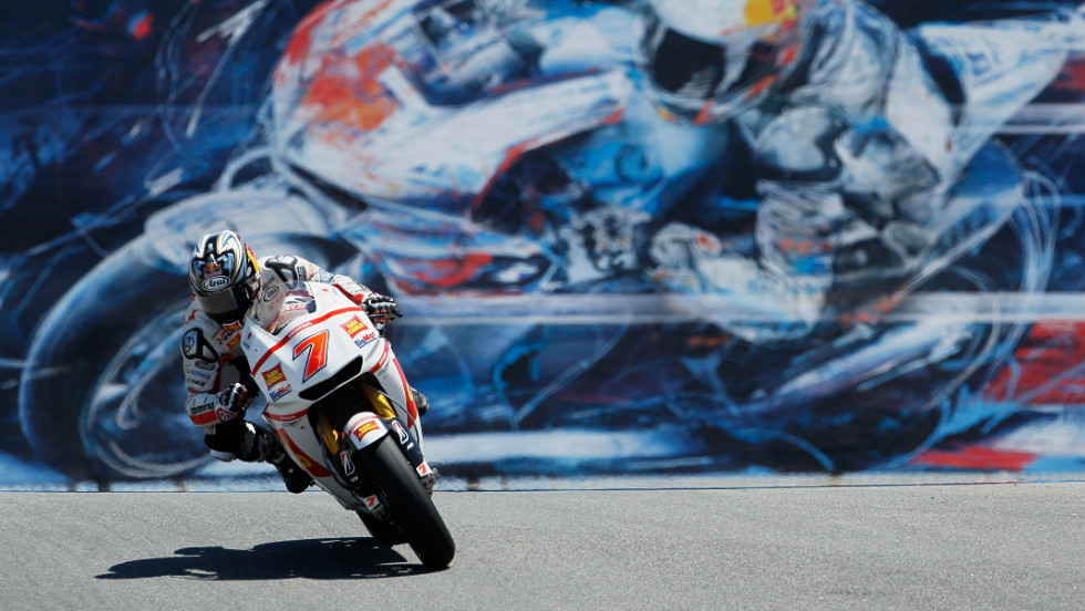 Hiroshi Aoyama was the top Japanese rider in MotoGP last year. The 30-year-old finished the season 10th for the San Carlo Honda Gresini team.