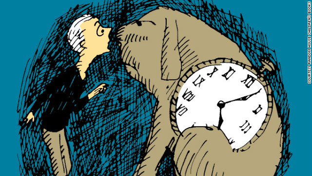 "Milo and Tock are main characters in Norton Juster's novel, ""The Phantom Tollbooth."""