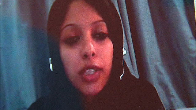 The Interior Ministry said Zainab al-Khawaja was arrested Thursday night