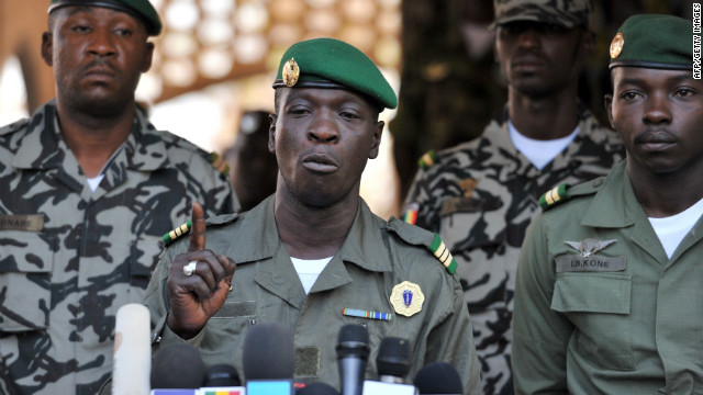 Events leading to military coup in Mali