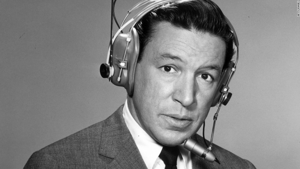 "A 1964 promotional portrait shows Wallace wearing a wireless microphone. He anchored ""CBS Morning News With Mike Wallace"" and covered most of the major news stories of the 1960s, including several assignments to Vietnam, according to the ""60 Minutes"" website."