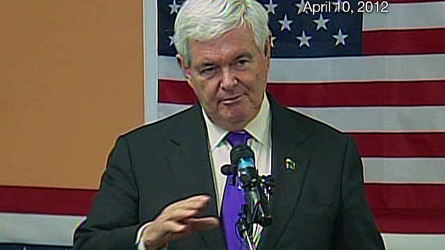 Gingrich: Santorum showed courage