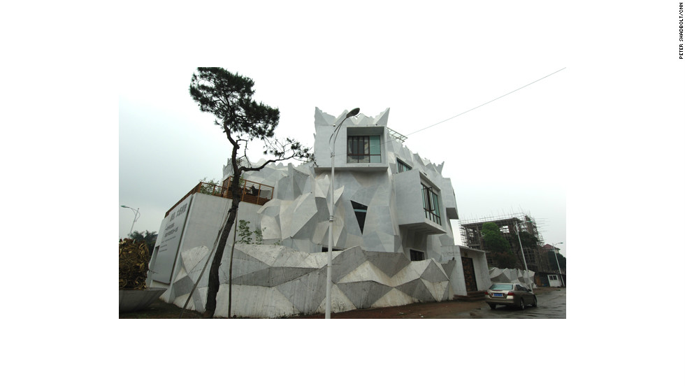 Yangjiang Group studio is an organic work in progress.
