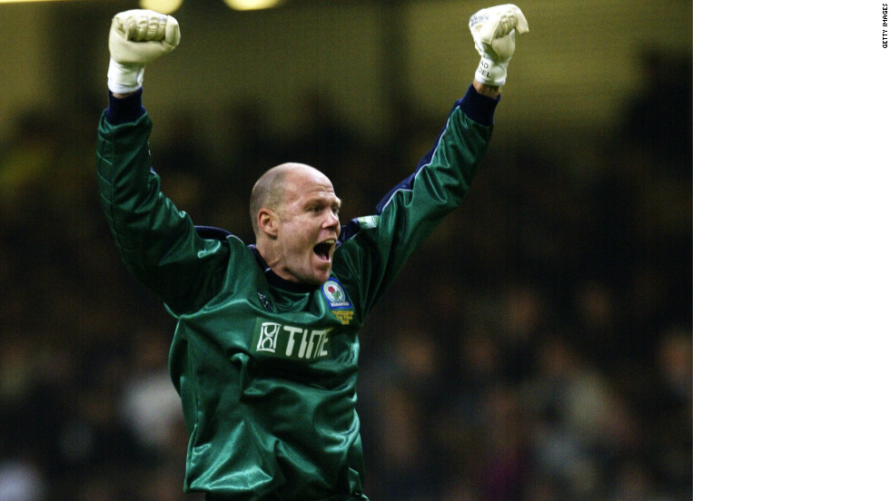During his eight seasons at Blackburn Rovers, Friedel became one of a select few goalkeepers to have scored a goal in the Premier League -- although his team lost 3-2 to Charlton in the February 2004 match.