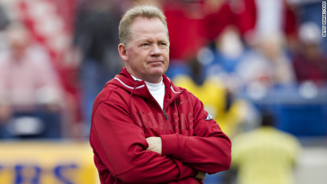 Bobby Petrino was fired as Arkansas head football coach after failing to reveal a relationship with a female member of his staff.
