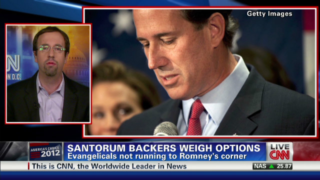 Santorum supporters weigh options
