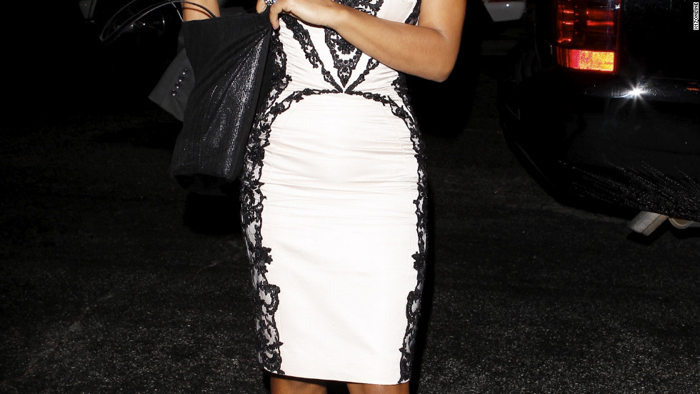 Christina Milian attends an event in West Hollywood.