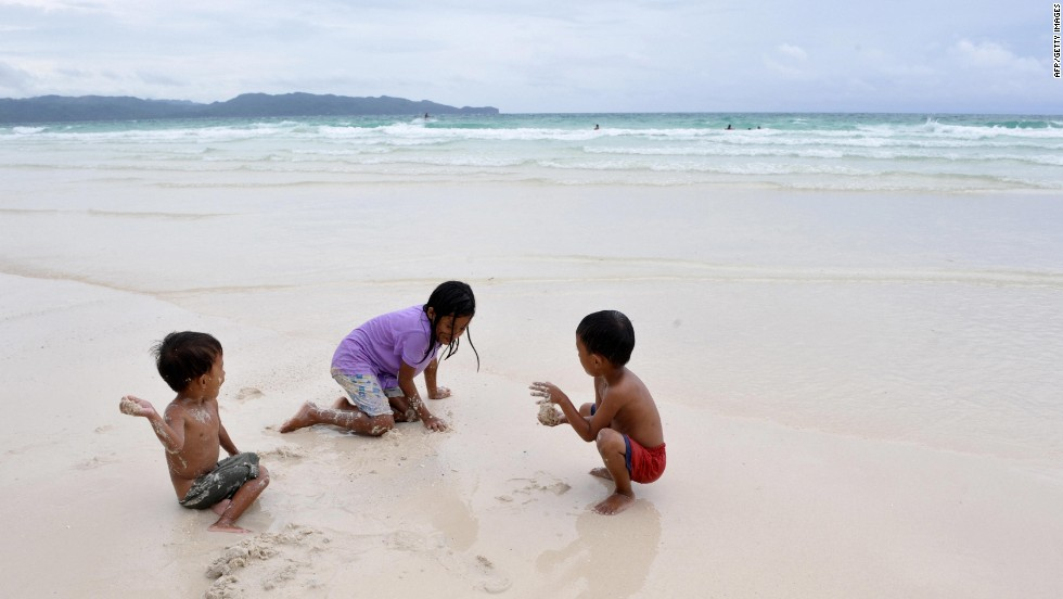 The Philippines' many islands attract holiday makers seeking a beach getaway.  Boracay's white sandy beaches remain one of the most popular destinations for sunning and scuba diving.