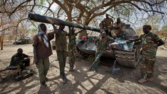 Sudan, S. Sudan clash over oil territory