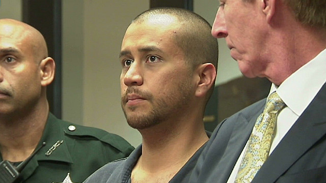 Zimmerman briefly appeared in court Thursday