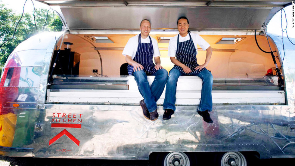 "Many businesses insist on using locally-sourced fare (some from in-house farms). <a href=""Street Kitchen"" target=""_blank"">Street Kitchen </a>founders Mark Jankel, left, and Jun Tanaka, are adamant about sourcing 100% of their food from British suppliers."