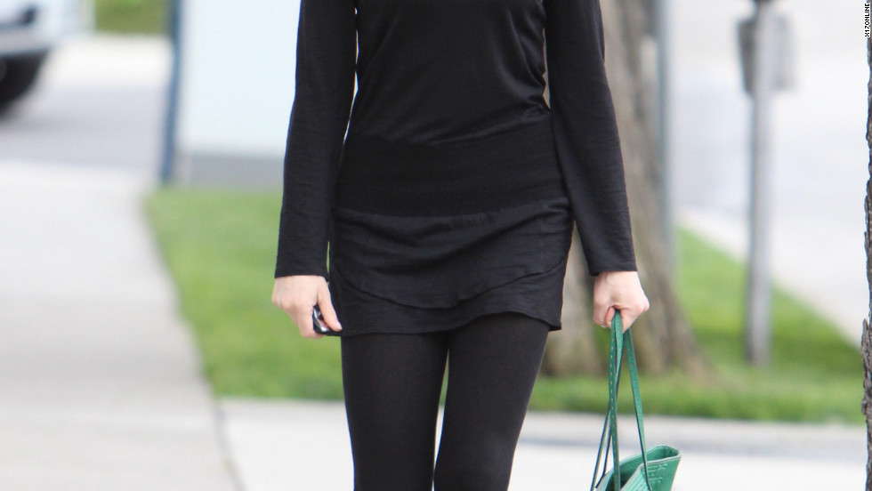 Rose McGowan goes shopping in Beverly Hills.