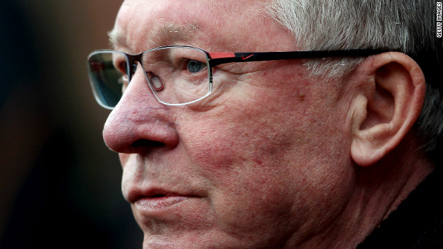 Alex Ferguson saw his side suffer a shock 1-0 defeat at Wigan to throw the English Premier title race wide open.