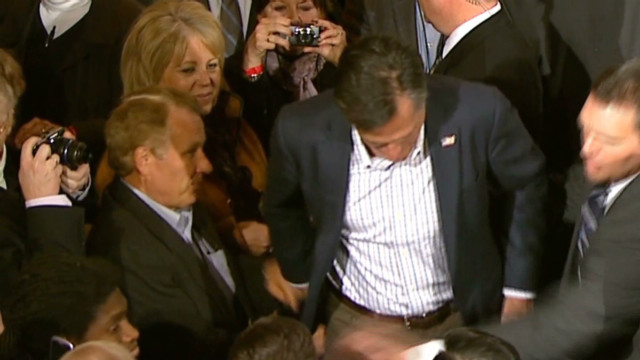 Romney's glitter bomber speaks out
