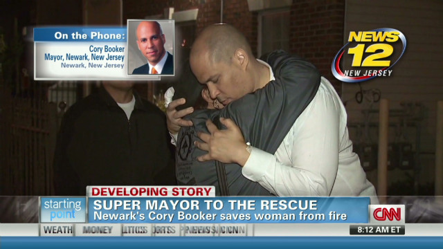 Newark Mayor Cory Booker on rescue
