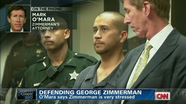 Lawyer: Zimmerman 'stressed, nervous'