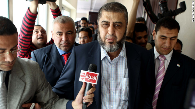 Khairat el-Shater, the Muslim Brotherhood candidate, is awaiting a court decision regarding his eligibility.