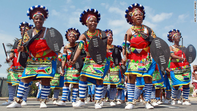 120416041832 zulu ceremony story top - South African Traditional Wedding Dresses